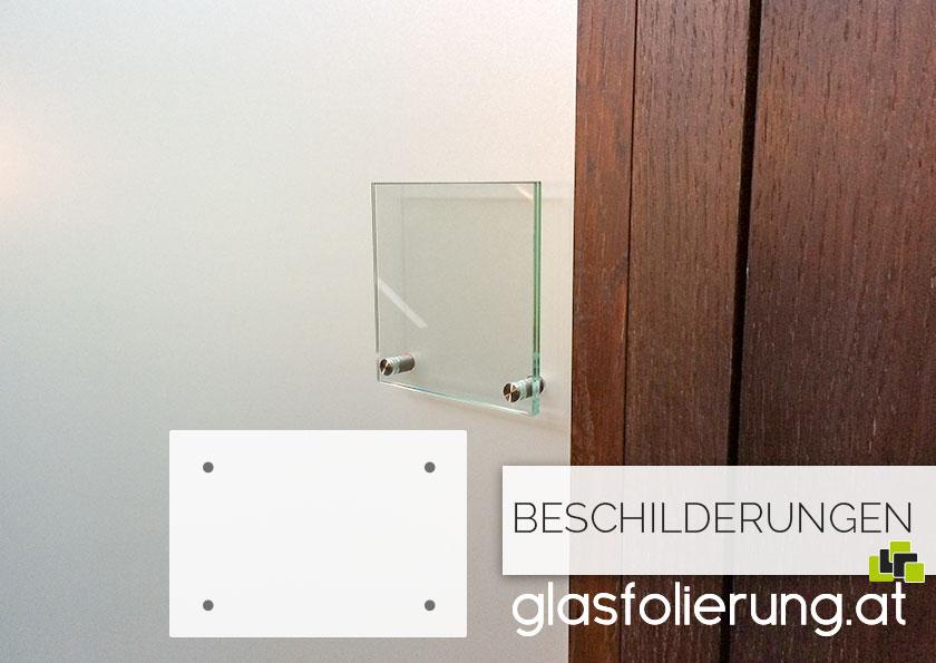 Glasschilder