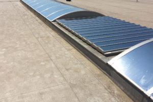 Sonnenschutzfolie Dach