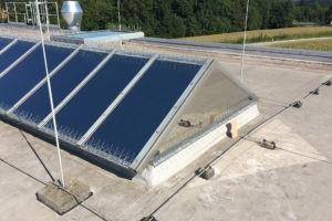 Sonnenschutzfolien Dach