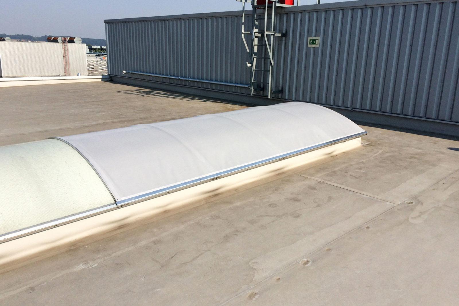 Dachkuppelbeschattung