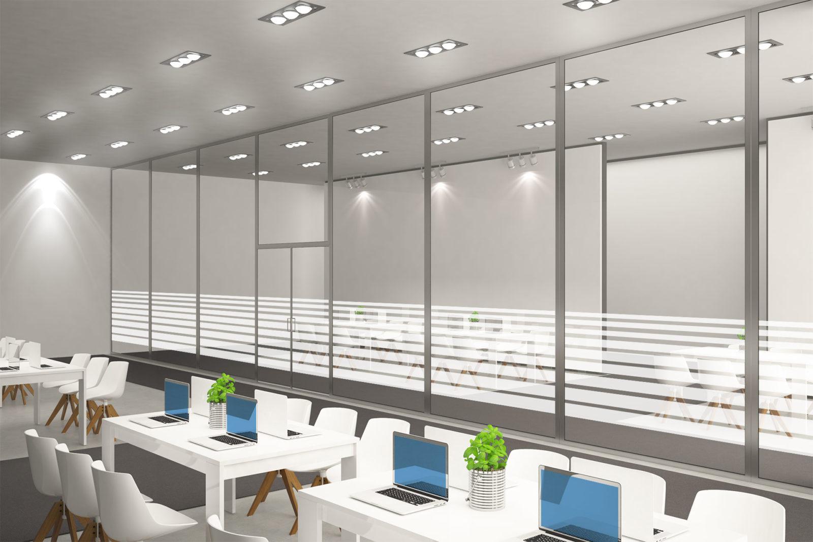 Milchglasfolien für Workspaces