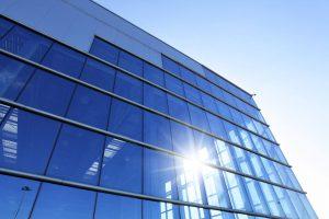 Sonnenschutzfolien große Glasflächen
