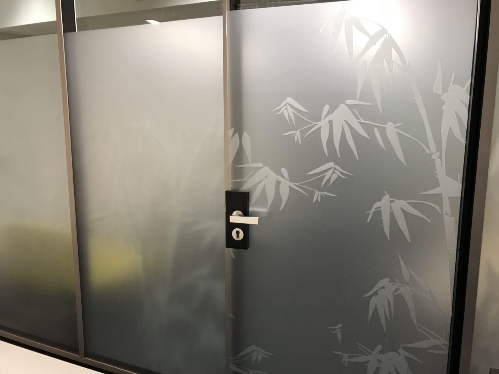 Sichtschutzfolie SCC Linz