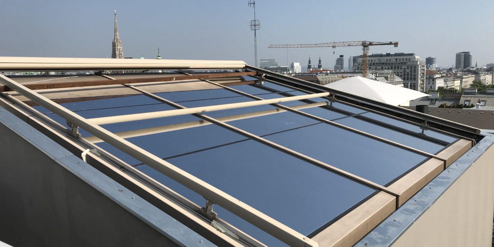 Sonnenschutzfolien Glasdach Wien