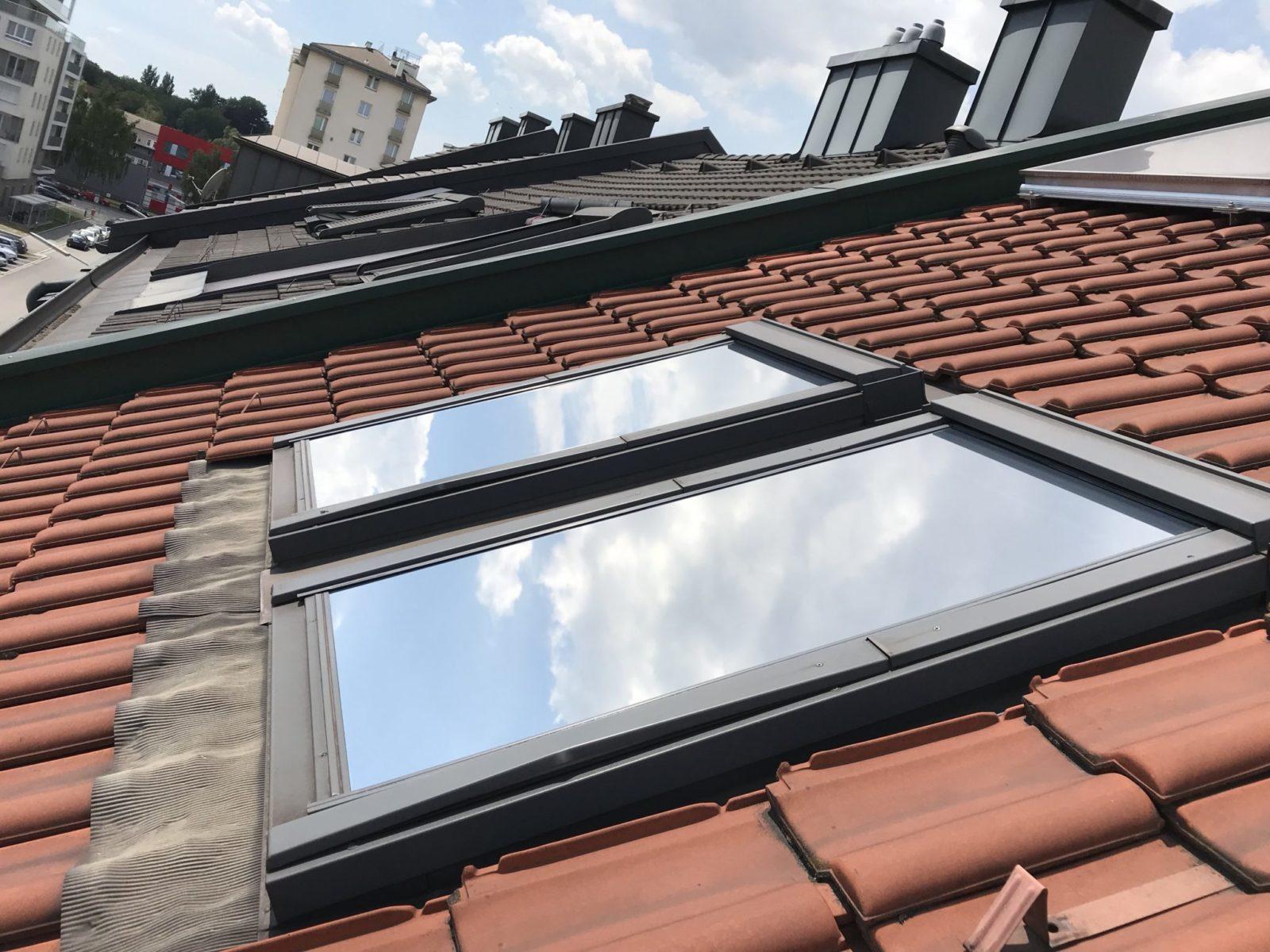 Sonnenschutzfolie Dachflächenfenster außen