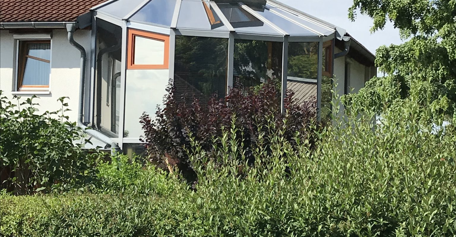 Sonnenschutzfolie Wintergarten