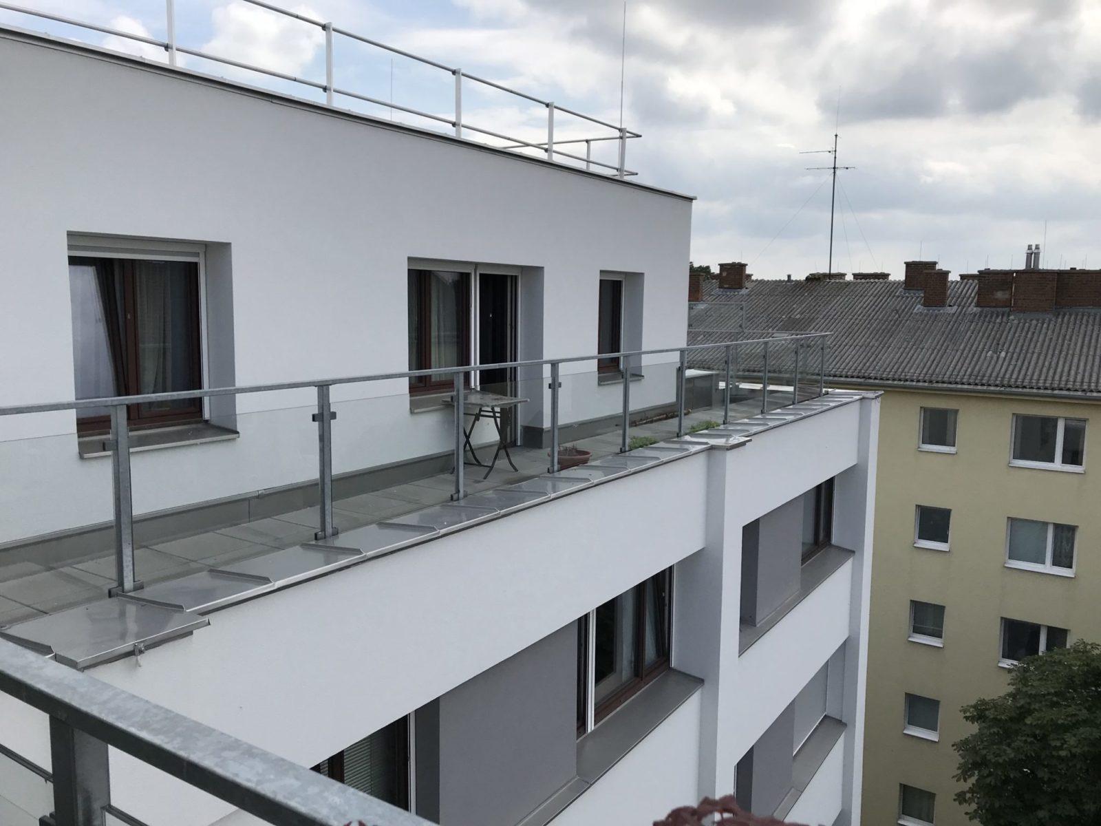 Balkon ohne Folie vorher