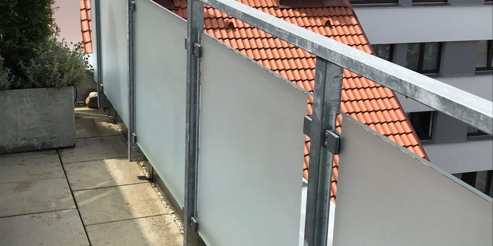 Sichtschutzfolie Balkon