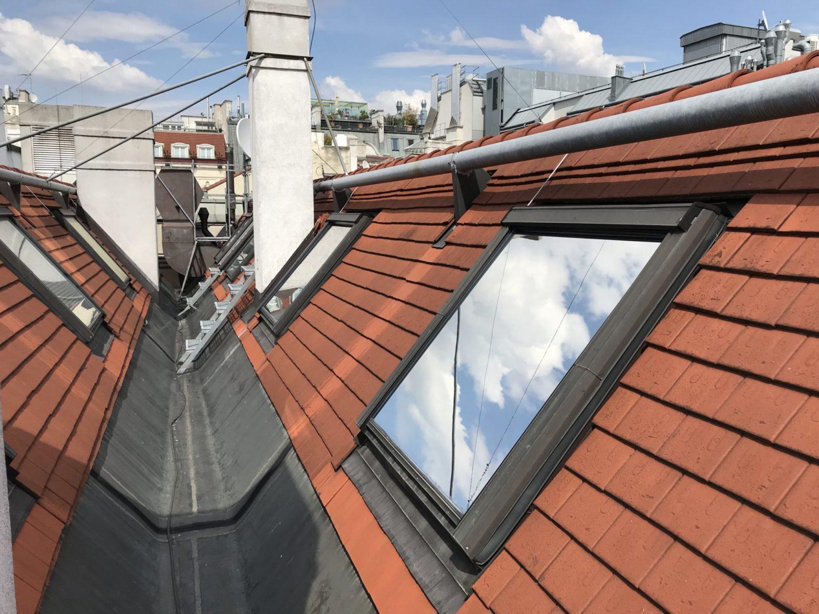 Sonnenschutzfolie Dachflächenfenster mit Folie