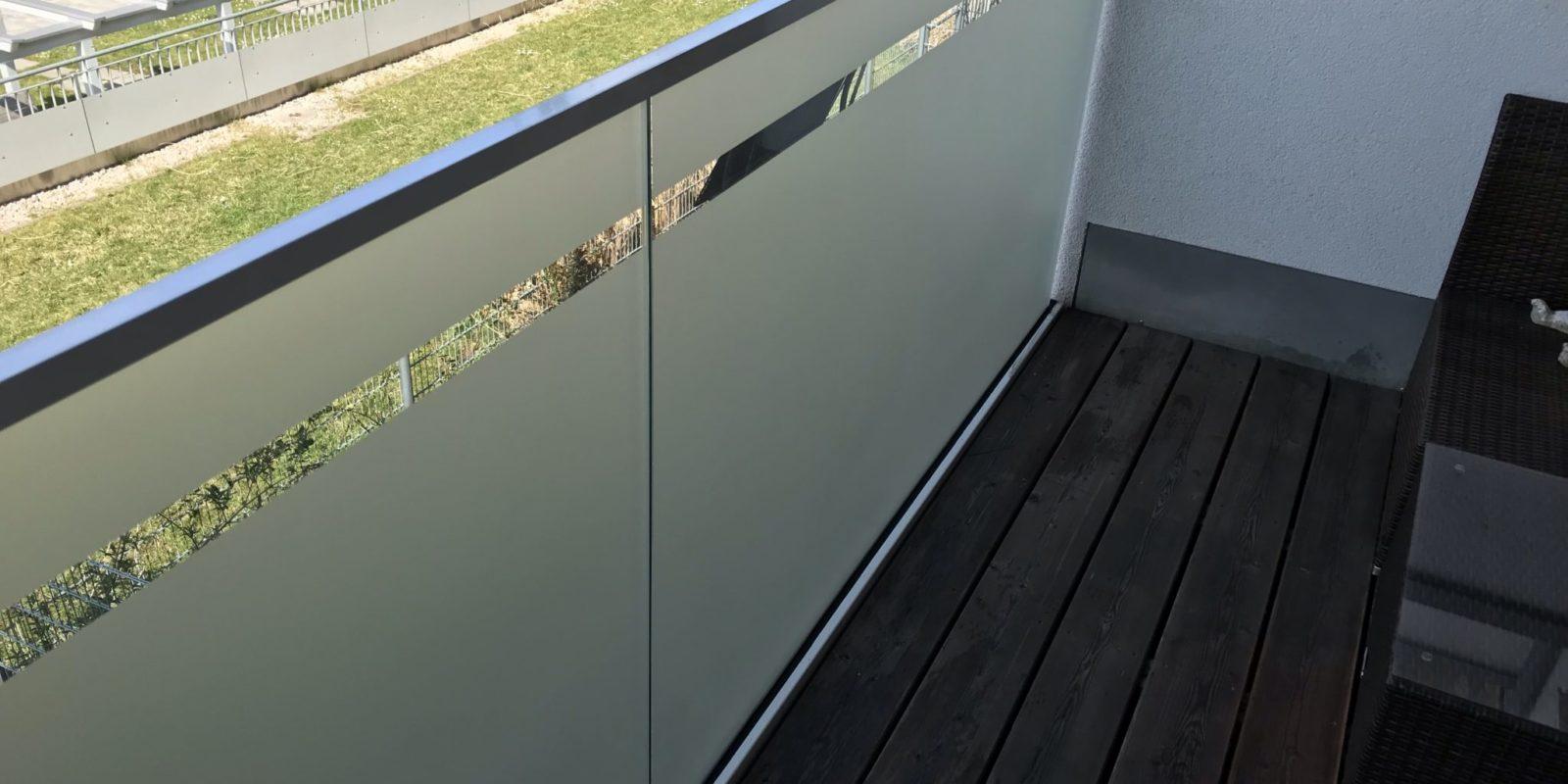 Sichtschutzfolie Fixverglasung