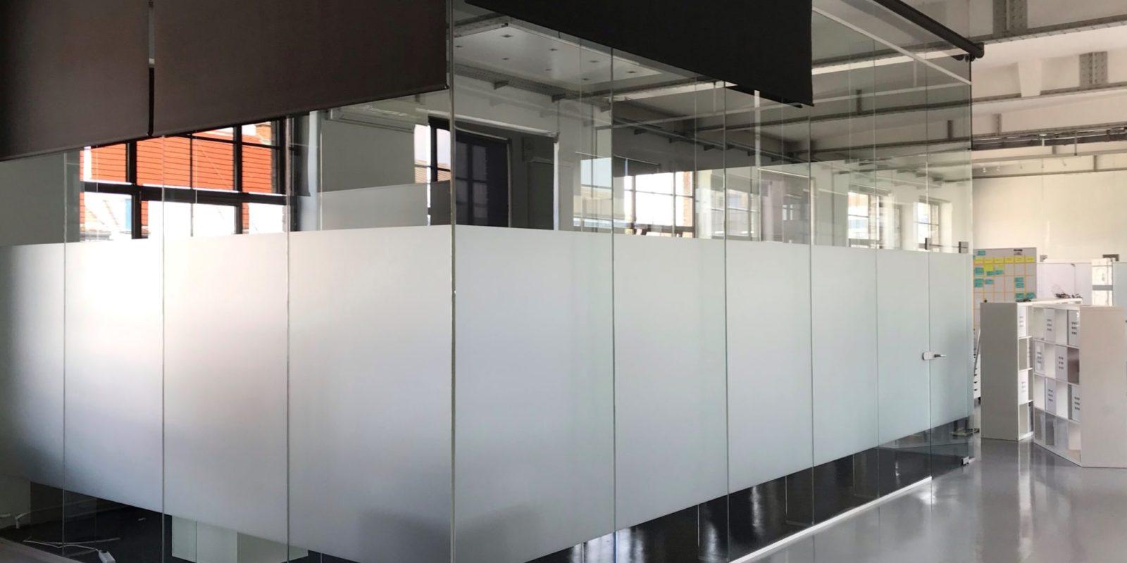 Sichtschutzfolie Büro