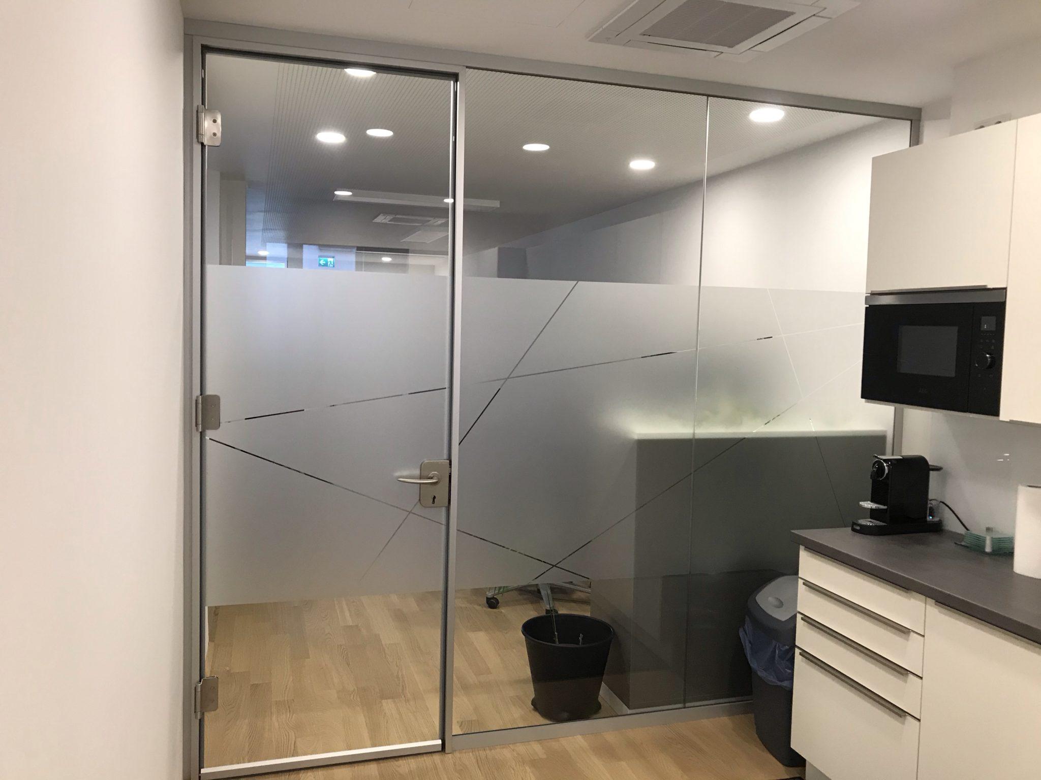 Sichtschutzfolie Küche