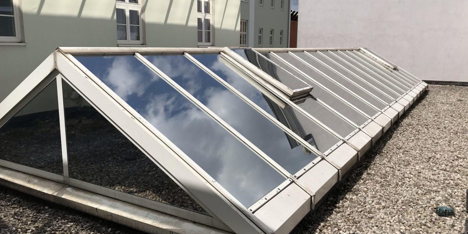 Sonnenschutzfolien – Dachkuppel