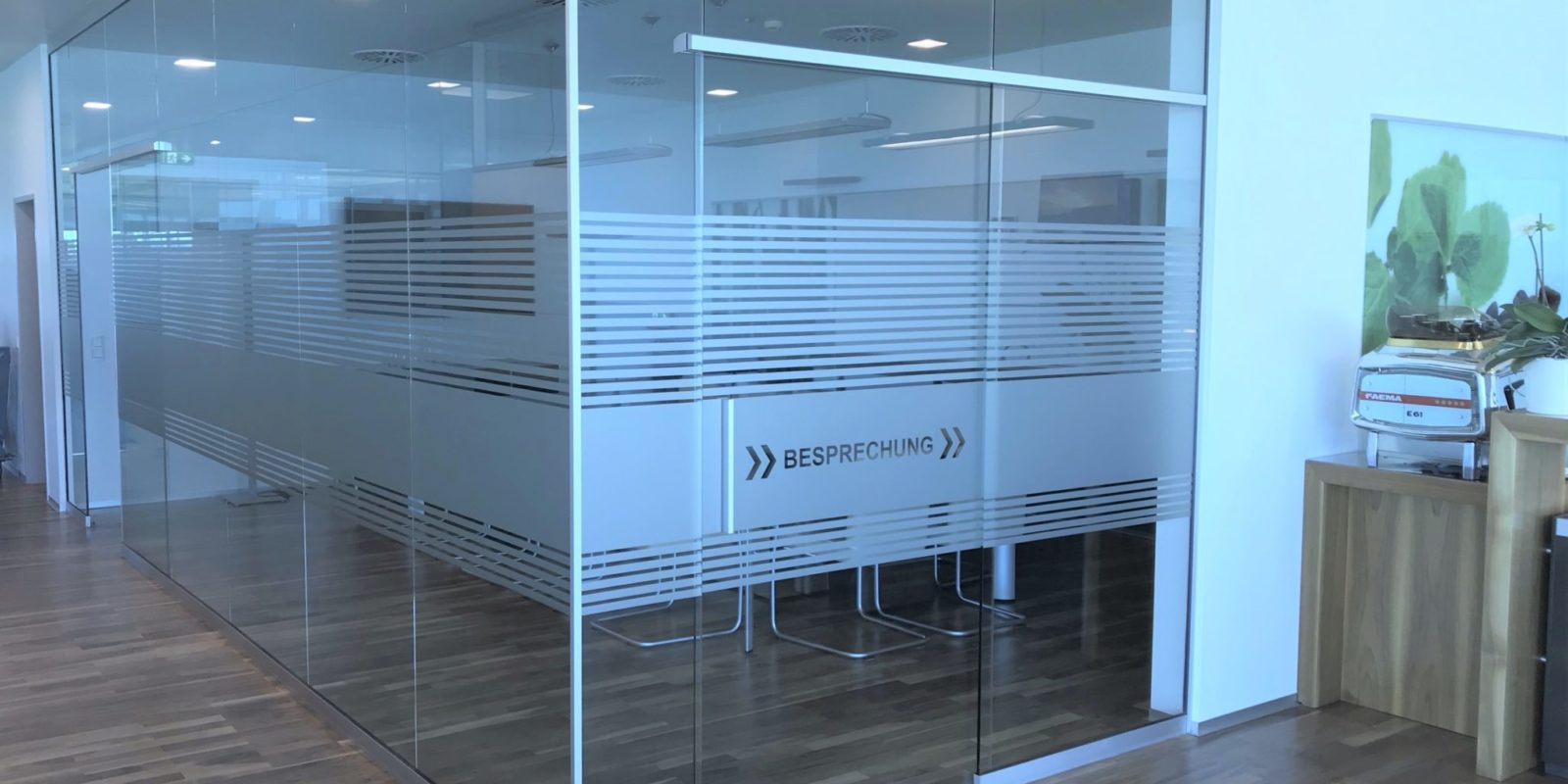 Sichtschutzfolien Büro