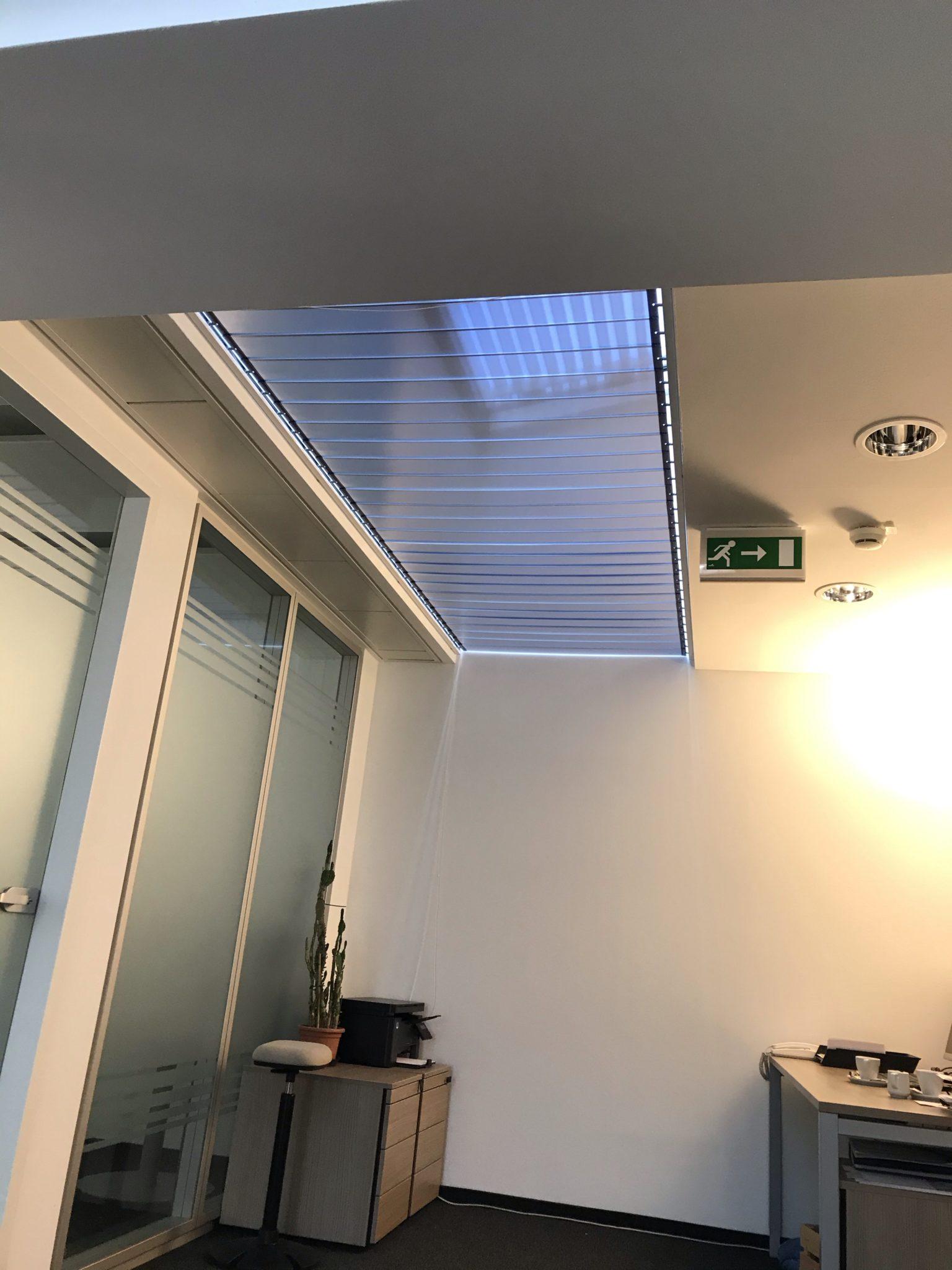 Blendschutz dachkuppel Lamellen